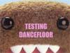 testing dancefloor