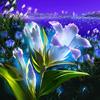 цветочек яркий