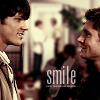 Morgan Dawn: Supernatural Sam Dean Smile