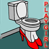 PLAYGIRL'S STYLISH TOILET