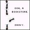 Bookstore... shiny...