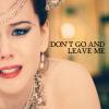 MR - Don't Leave Me