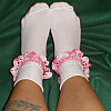 shala_beads: pink crochet socks