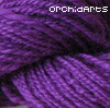 Bookat: purple yarn
