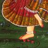 Radha foot