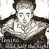 Tonino reading