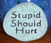 Stupid should hurt.