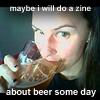 alex: beer zine