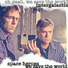 intergalactic space heroes