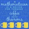 math: coffee to theorems