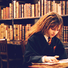 Miss Sophia: Hermione in the library