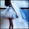 stock - ballet dancer in blue