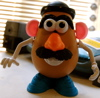 White Rabbitt: Mr Potato Head w/mustache no glasses