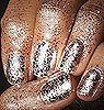 piranha - glitter fingers.