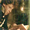 Horatio reading