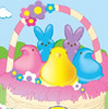 Des: Peeps in a Basket