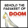 bleach parakeet of doom!