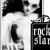 rockstar: black and white!