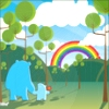 ali: look at that rainbow!