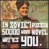 nanowrimo: in soviet russia