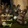 HawkMoth: happybunnies
