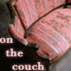 couch - on the couch