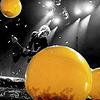 yellow, balloons