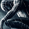Heather: Black Suited Spidey in the Rain