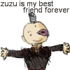 zuzu is my BFF