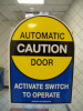 Semi-Automatic Door