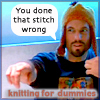 Zenspinner Chaosdancer: done stitch wrong