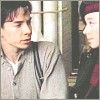Avonlea: Gus and Felicity sitting and looking at each other