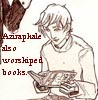Aziraphale also worshiped books