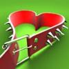 сердце-ремешок