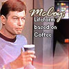the oncoming whirlwind: tos: bones - coffee-based lifeform