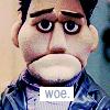Woe puppet Angel