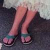 Cecilia's feet