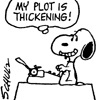 daylyn: Snoopy plot thickening_kcwriter