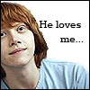 Ron: he loves me
