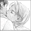Coffeejunkii: draco kisses harry [art by lillithium; i