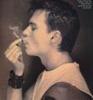 man smoking left