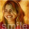 rache: rose smile