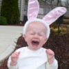 unhappy bunny!