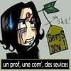 Sevy Snape à toute heure, à votre sévice....