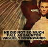 He Sauntered Vagually Downward