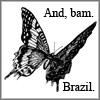 And, bam. Brazil.