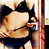 sexy / sydney, alias / black lingerie syd