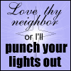 Punch Your Lights Out