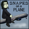 Spam: Snapes on a plane