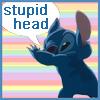 stupid head